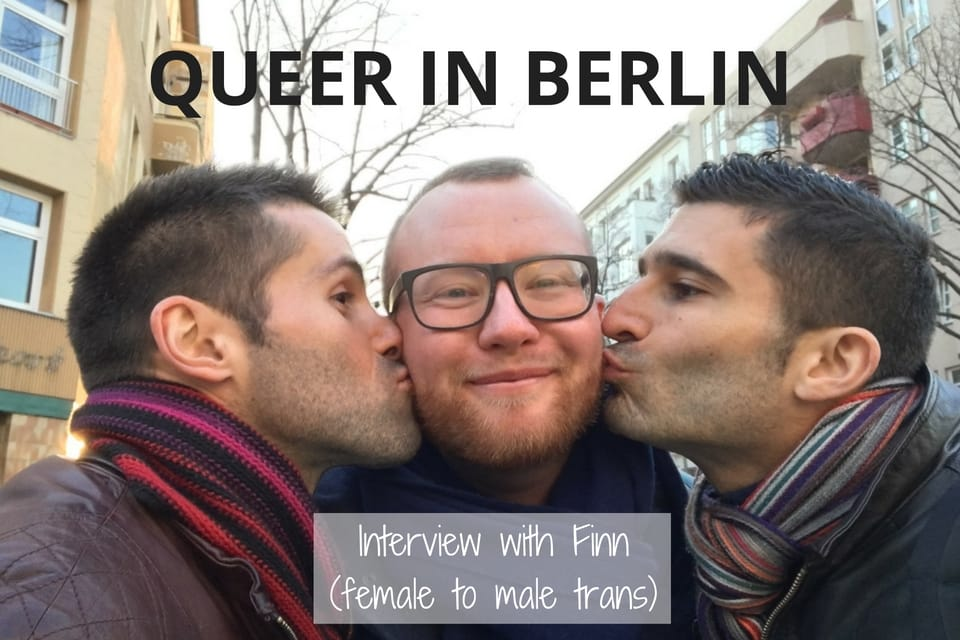 interview with trans female to male in Berlin