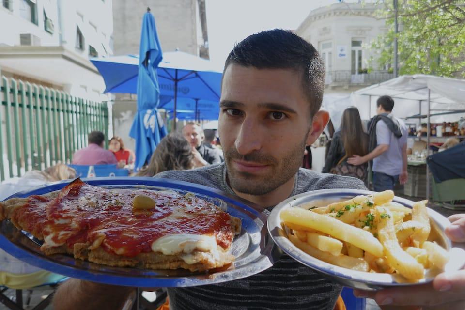 best food of argentina milanesa napoletana