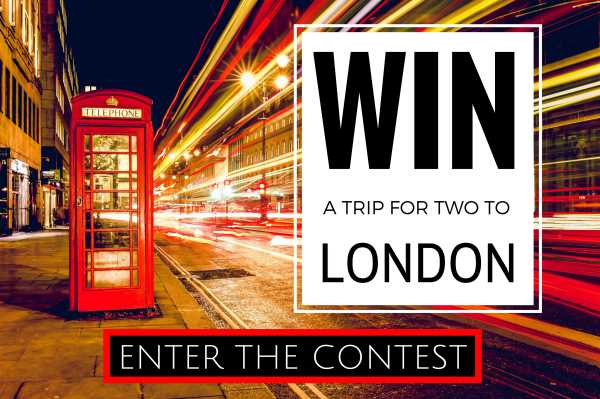 Win a trip to London giveaway competiton popup