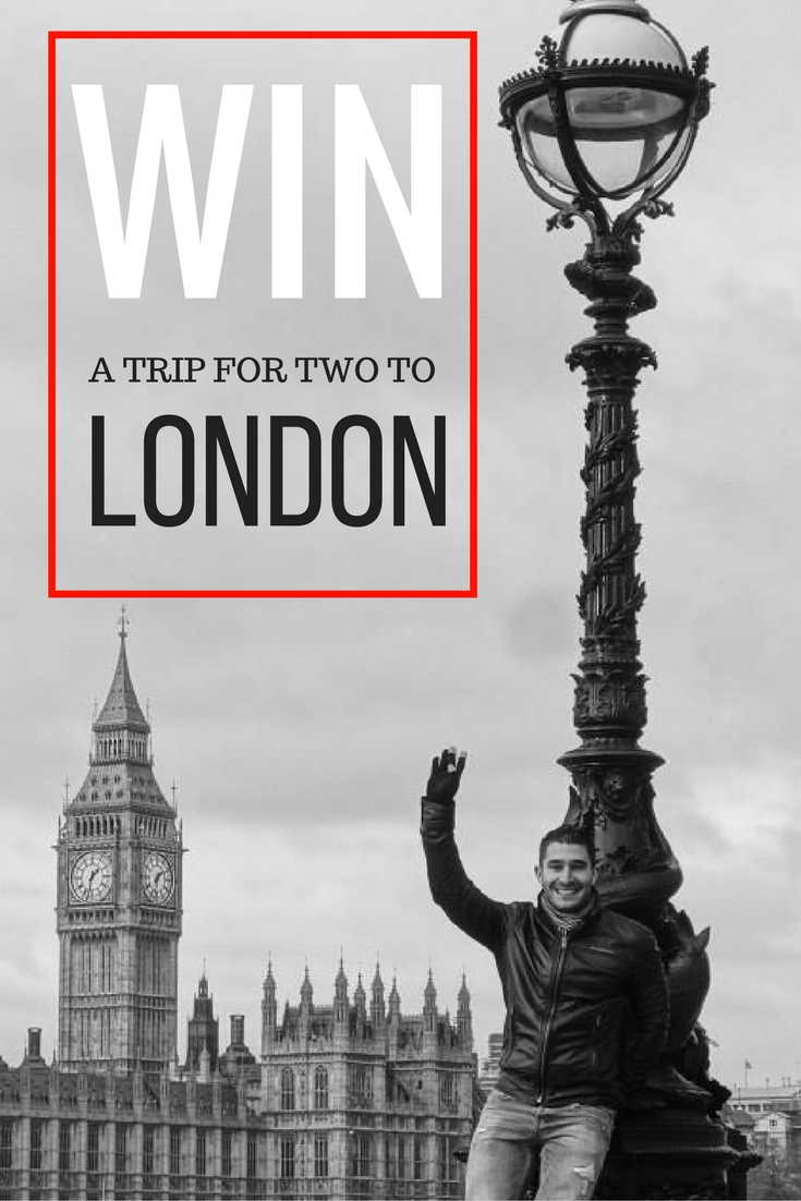 Pinterest win free trip to London