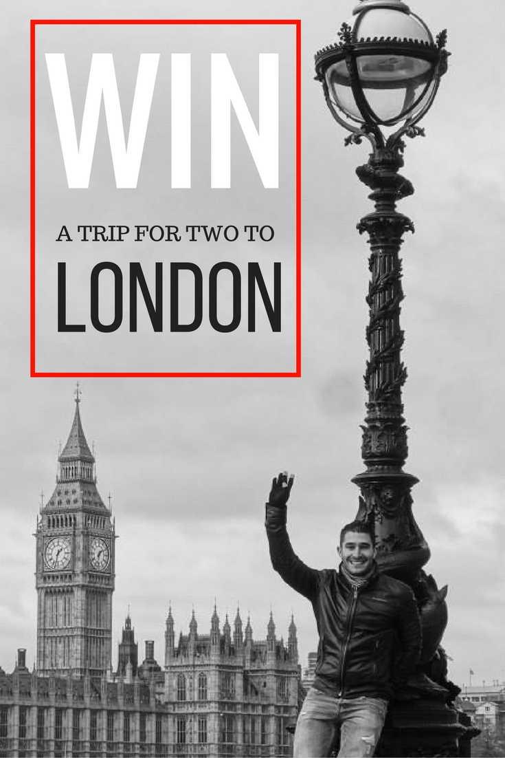 Pinterest win free trip to London
