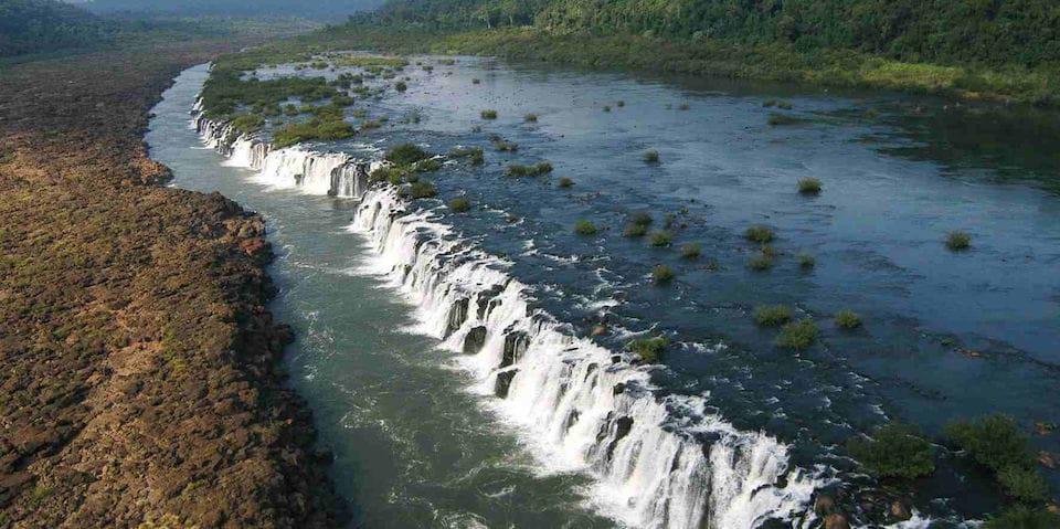 Mocona Falls road trip in northeast argentina