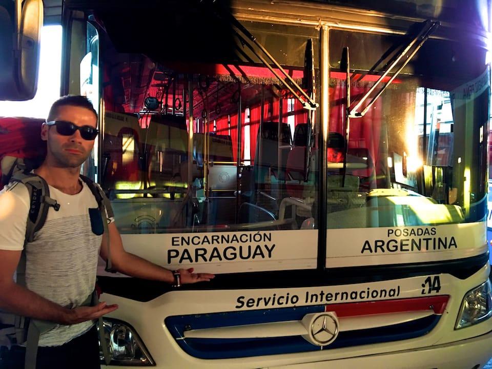 Encarnacion Posadas bus