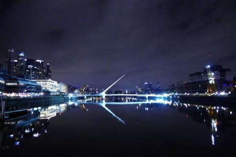 Puerto Madero is a very romantic area to visit for gay couples