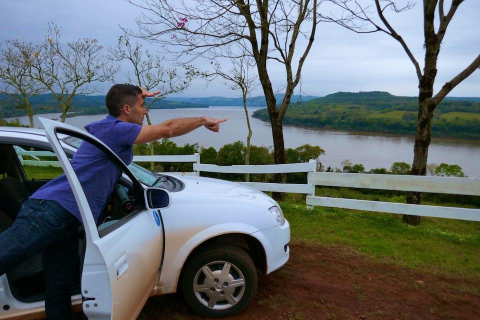 Hertz road trip Misiones Corrientes Argentina