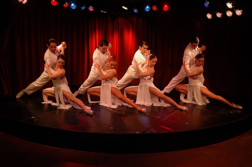 Rojo tango and show 1 of 5 romantic things to do in Buenos Aires