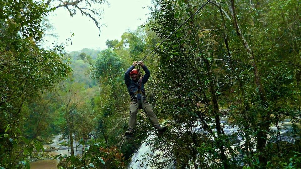 Mocona jungle ziplining road trip in northeast argentina