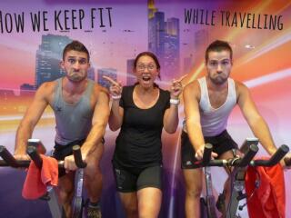 How to keep fit when travelling