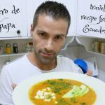 Recipe for locro de papa: Ecuadorian potato and cheese soup