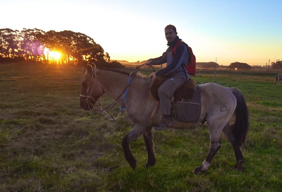 Colónia horse riding Uruguay itinerary