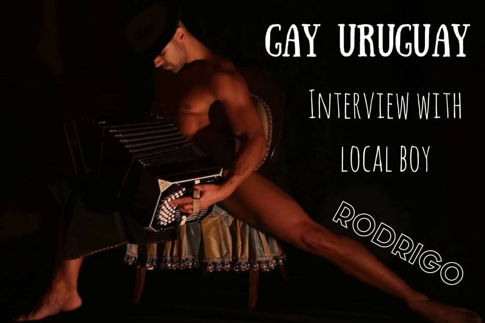 Gay life in Uruguay Rodrigo interview Montevideo