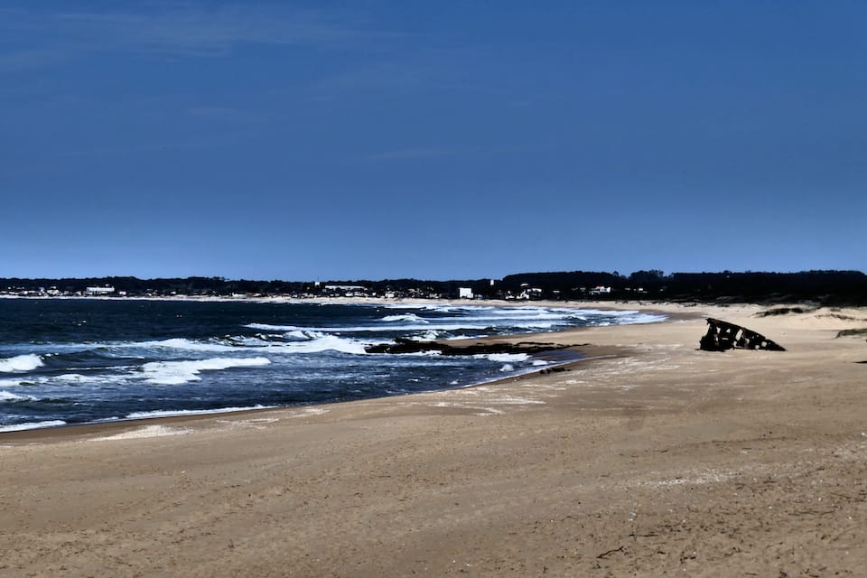 La Pedrera beach Uruguay itinerary