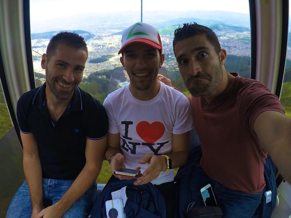 Mario gay life in Ecuador