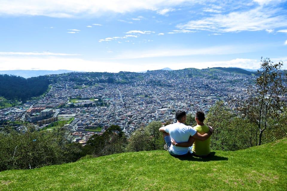 Quito view interview Mario gay life in Ecuador