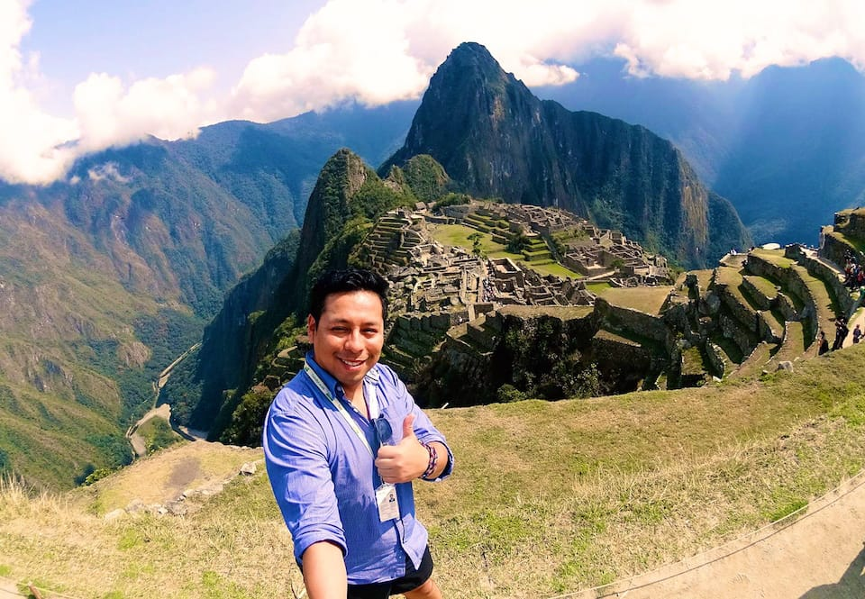 gay life in Peru romantic Aaron machu picchu