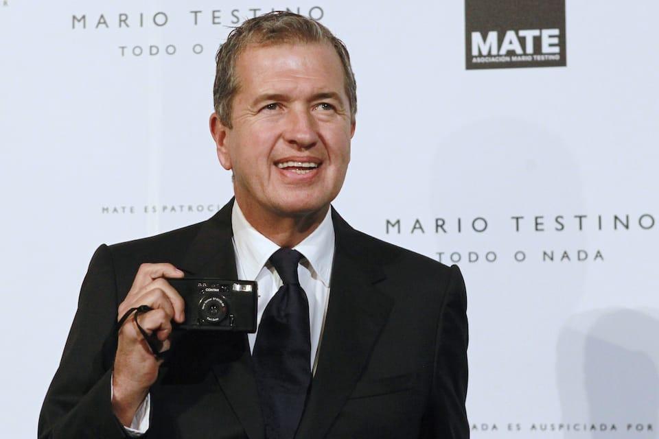Mario Testino famous gay Peruvian