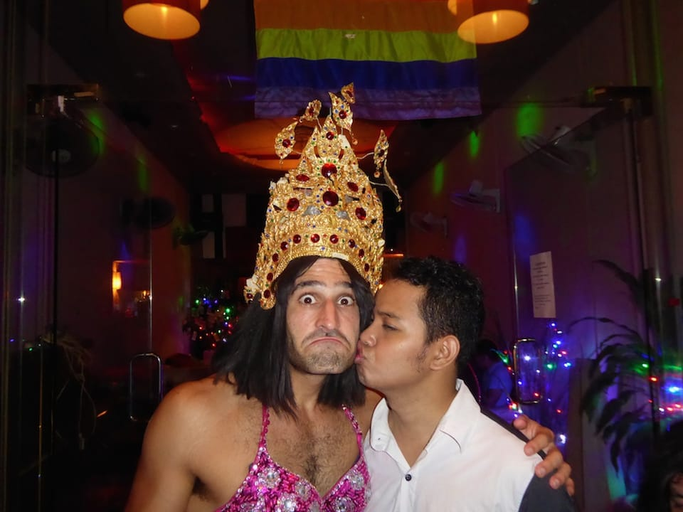 Hornet best gay apps meeting locals Phnom Penh Aaron Cambodia