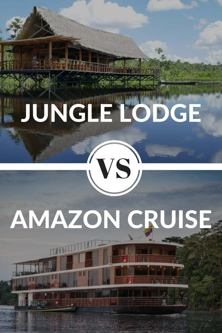 Amazon cruise versus jungle review on pinterest