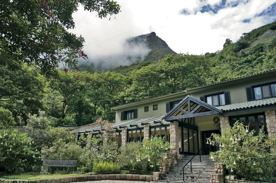 Belmond Sanctuary Lodge gay friendly hotel in Peru