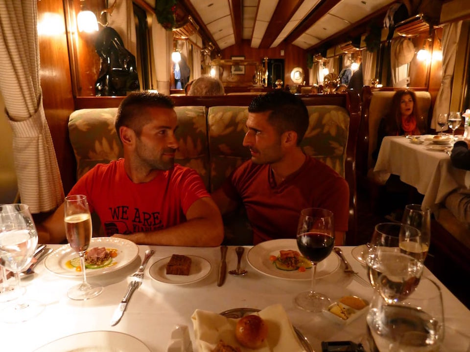 Belmond luxury train Machu Picchu Cusco gay cuide
