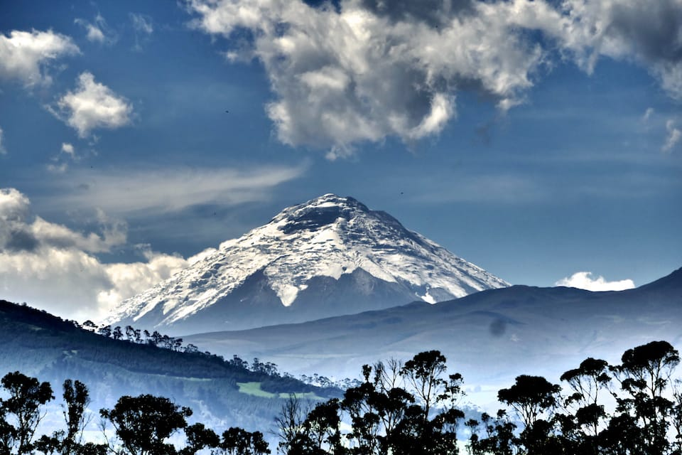 Cotopaxi volcano view Ecuador highlights