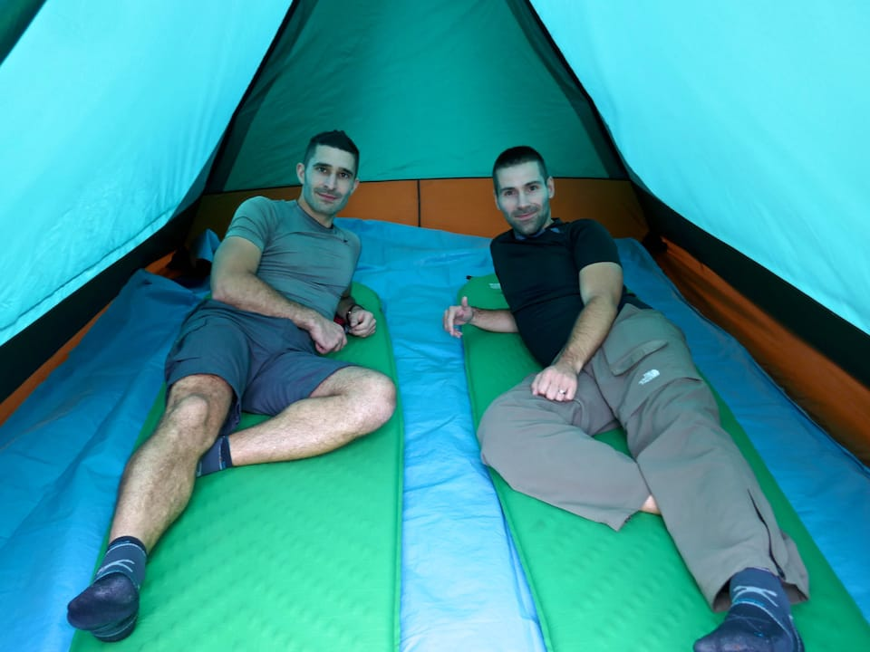Large tent camping inca trail review with journeyou