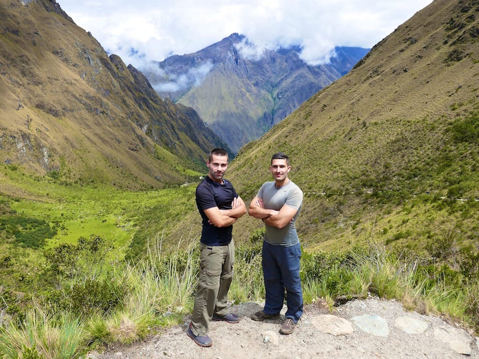 Itinerary to Peru Inca Trail views