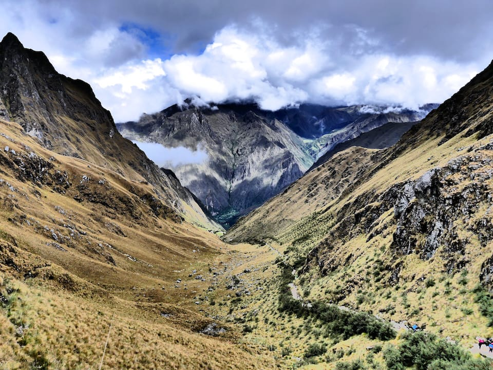Itinerary to Peru Inca trail to machu picchu Sacred Valley views
