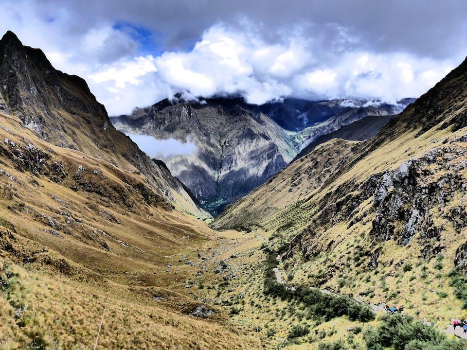 Itinerary to Peru Inca trail to machu picchu Sacred Valley views