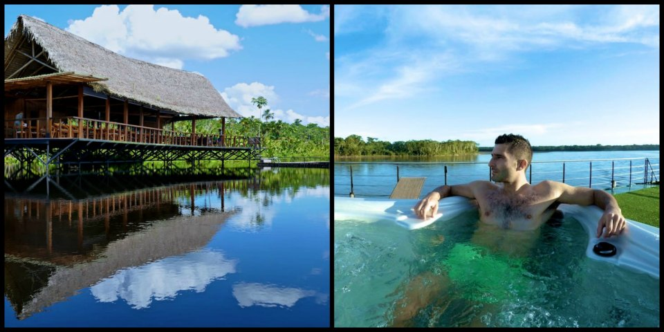 Jungle lodge versus Amazon river cruise