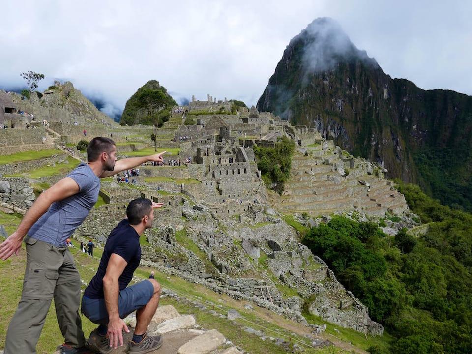 Inca Trail Machu Picchu view itinerary to Peru