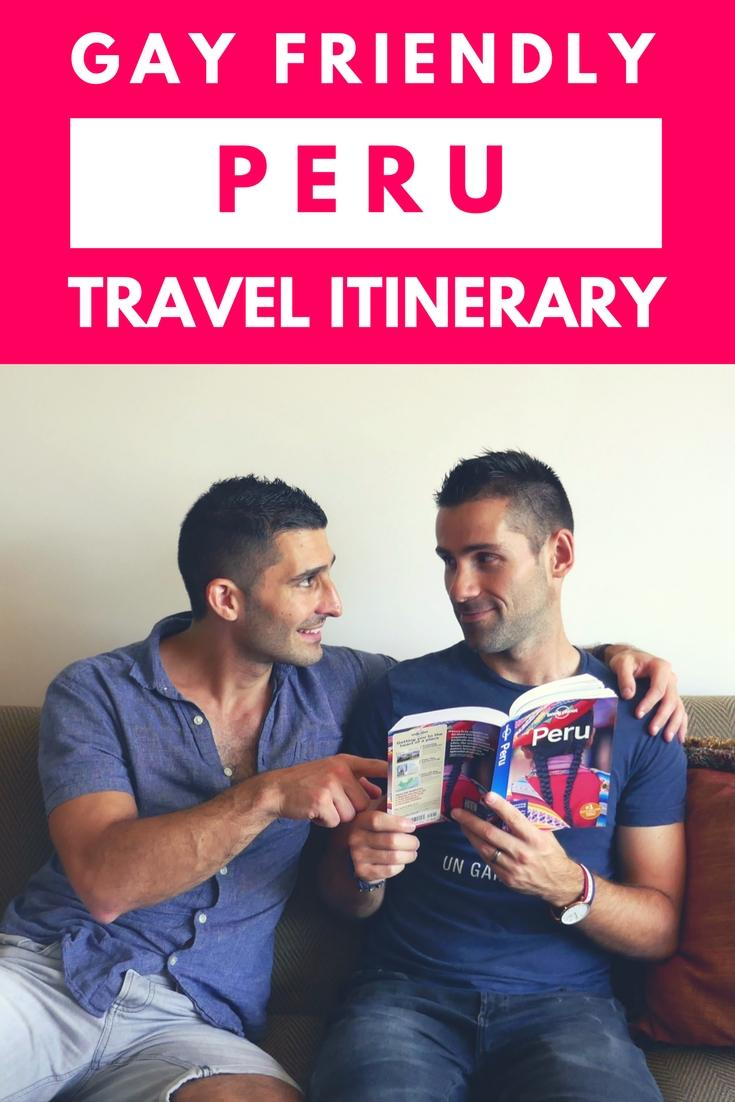 Peru travel itinerary Pinterest image