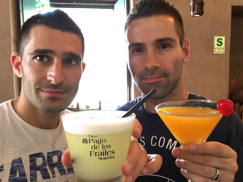 pisco sours in gay bars lima
