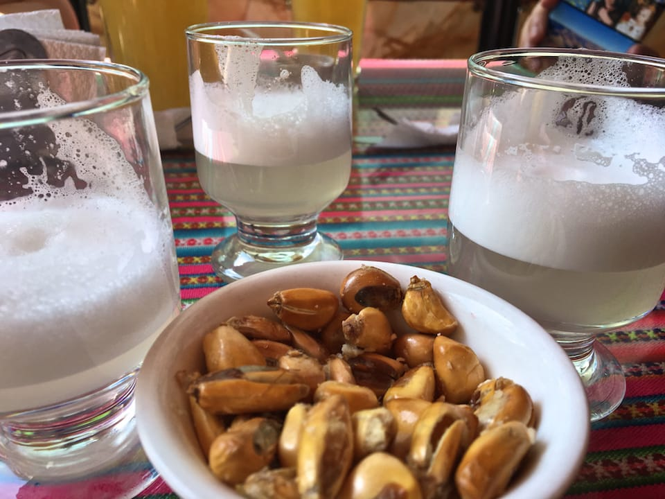 Toasted grains alternative to peanut famous facts about Peru
