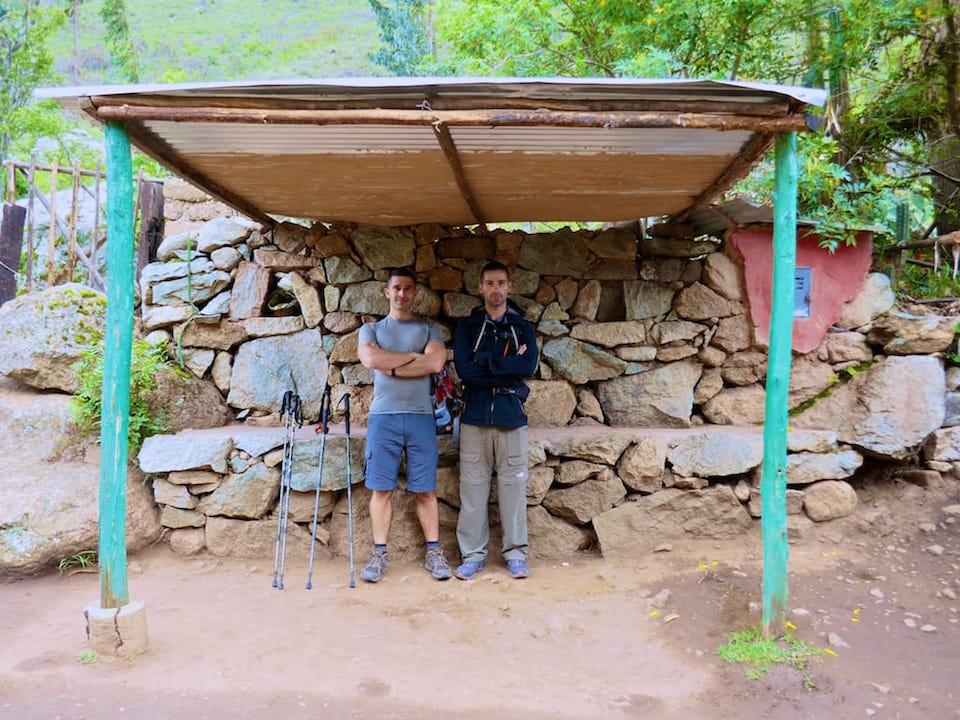 Inca Trail in January Nomadic Boys posing