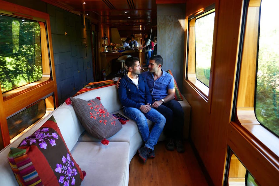 Tren Crucero luxury train one of 6 awesome things to do in Ecuador