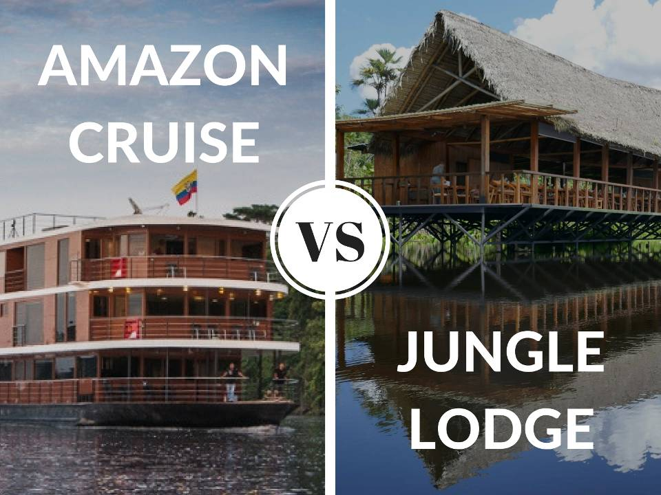 Amazon cruise versus jungle lodge by nomadic boys