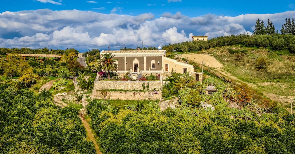 Luxury villa one of 5 romantic things to do in Sicily