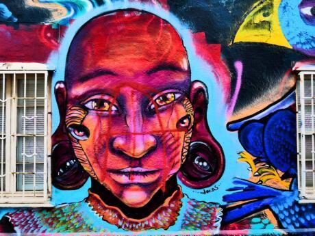 Valparaiso guia de viagens gay arte de rua da cidade