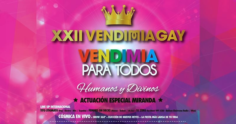 mendoza gay guide vendimia gay festival