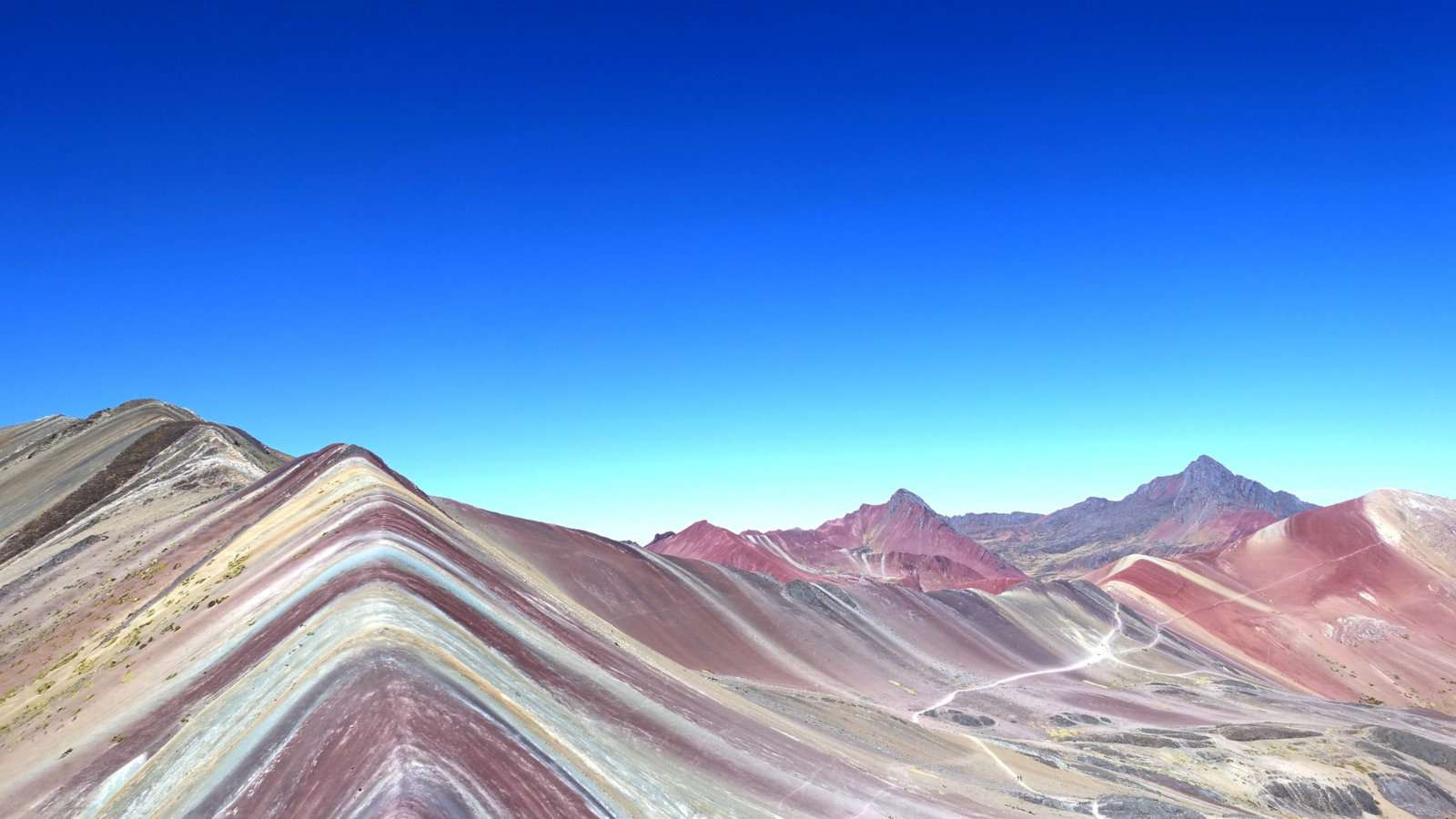 Vinicunca is a mountain made of rainbows in Peru that's a must-see