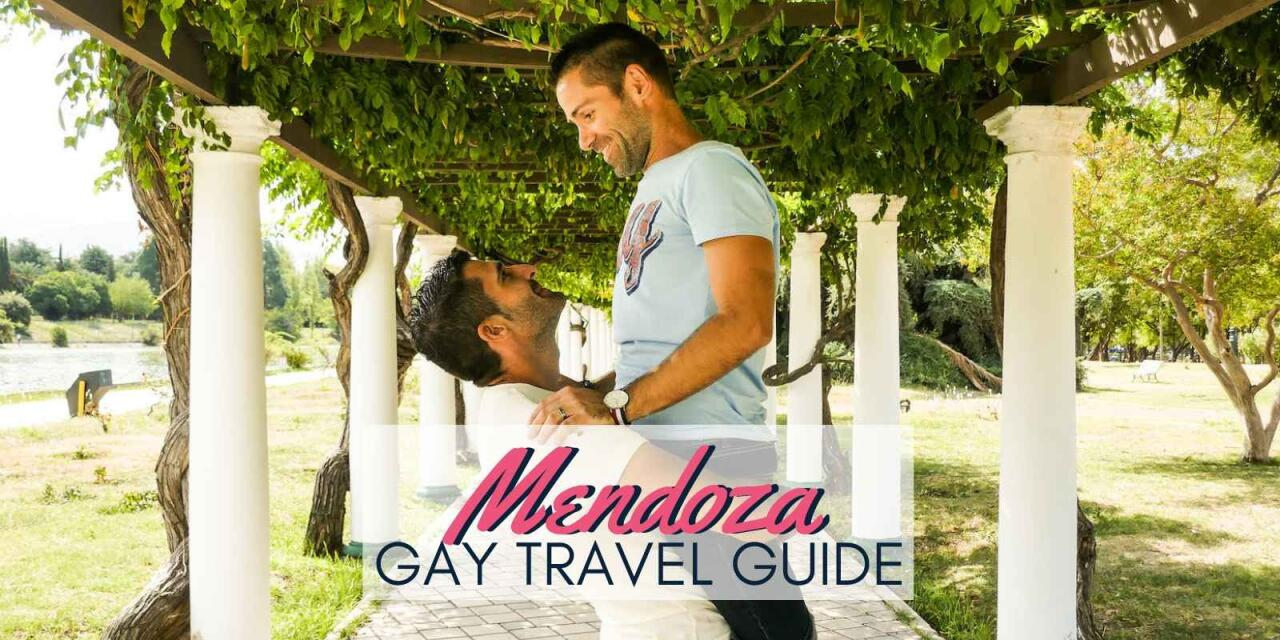 The gay travel guide to Mendoza, Argentina, with all the best hotels, bars, restaurants, wineries and more!