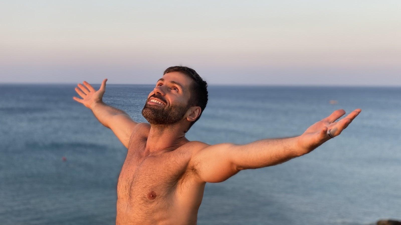 Elia gay beach in Mykonos