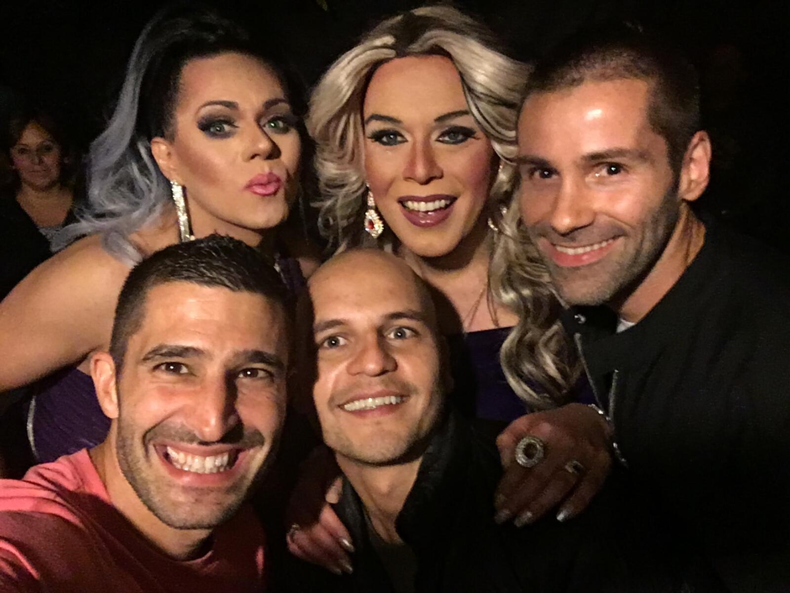 Farinelli gay bar in Santiago Chile