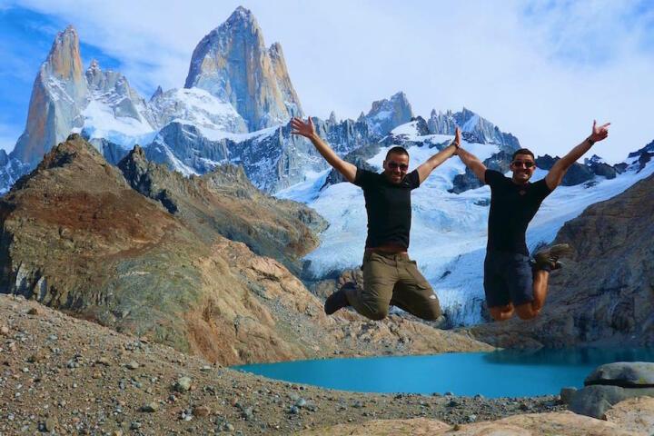 El Chalten or Torres del Paine - Trekking in El Chalten, the Laguna de Los trek.