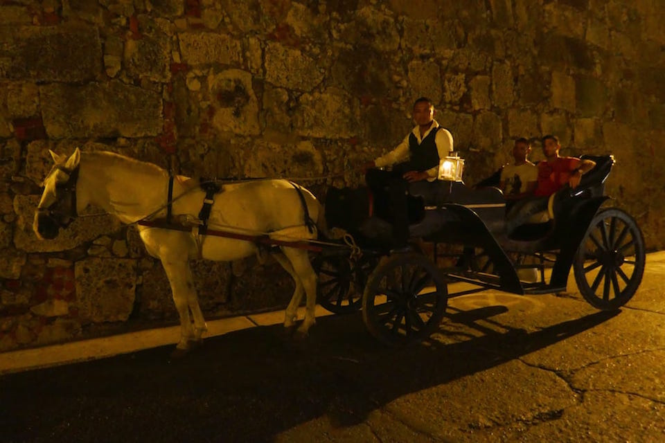 gay cartagena horse and carriage ride