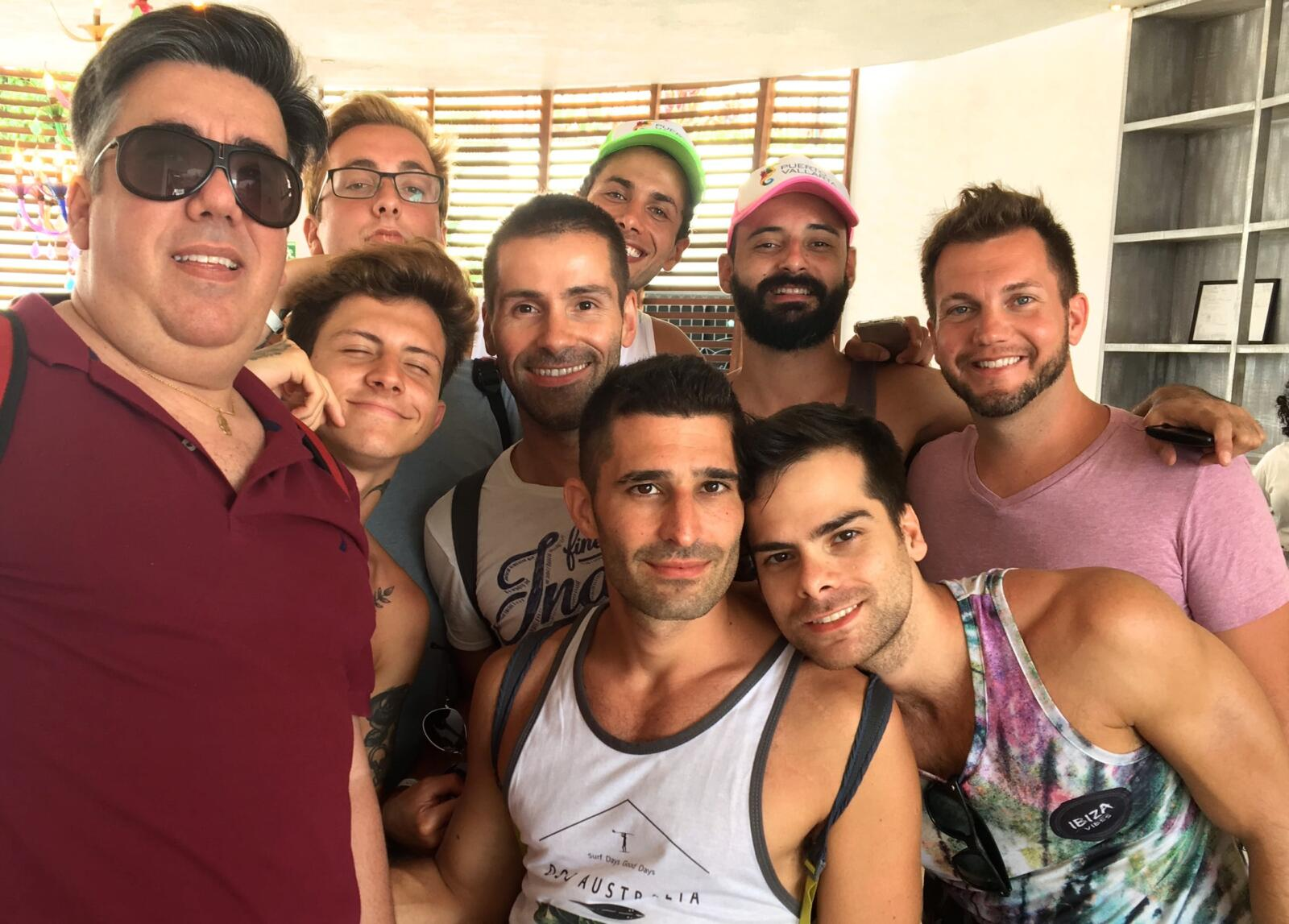 Puerto Vallarta gay pride with friends