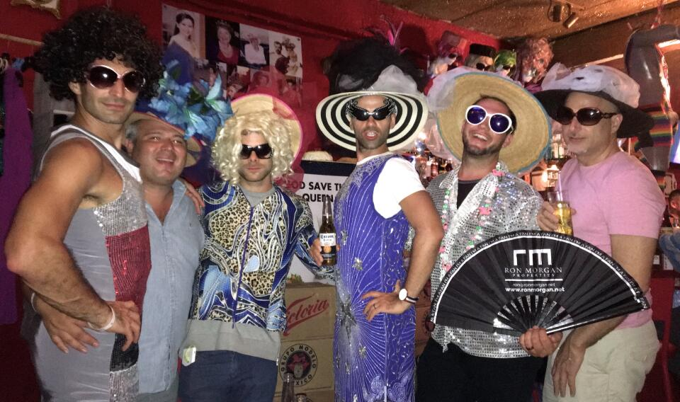 Reinas Bar gay bar Puerto Vallarta gay pride week