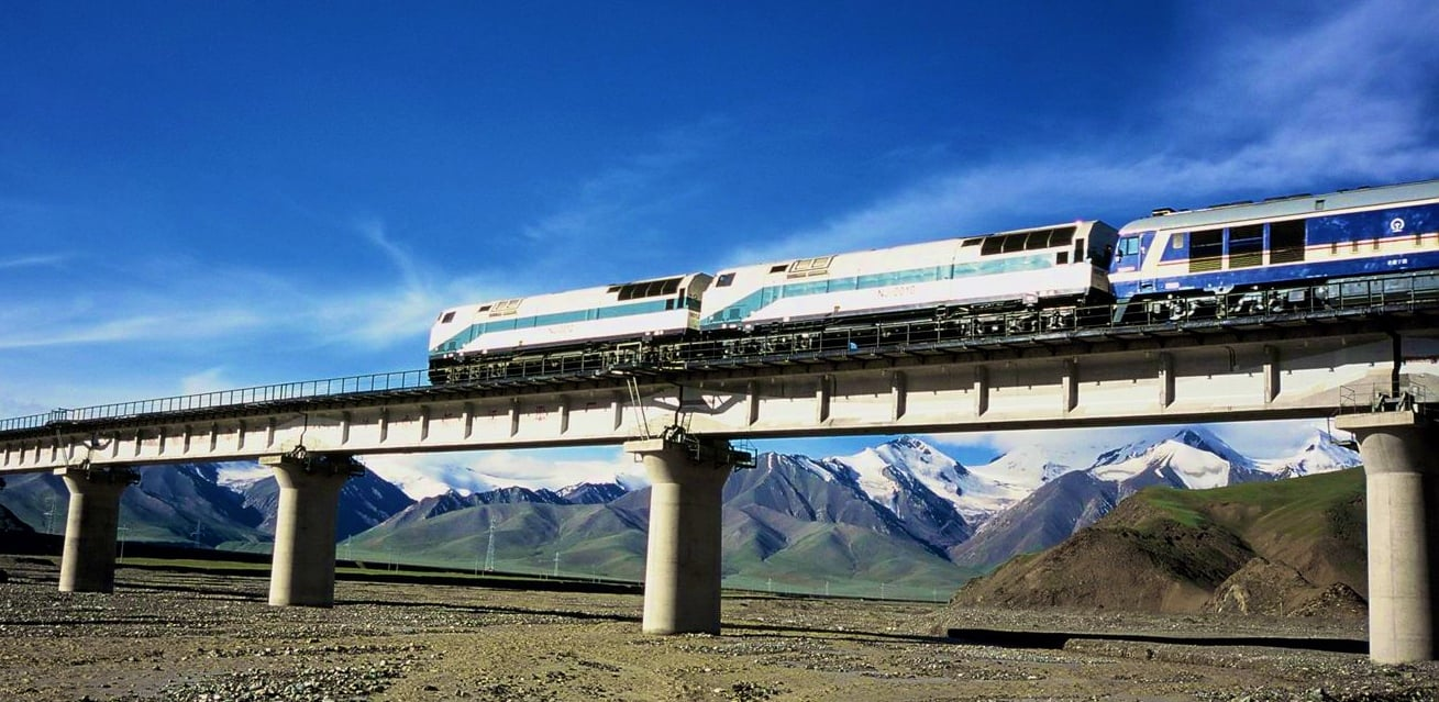 Train to Tibet better than flights
