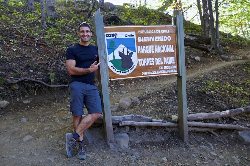 El Chalten or Torres del paine entrance sign